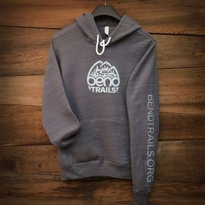 Grey Hoodie Front