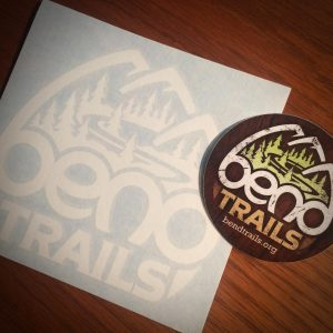 Bend Trails Decals