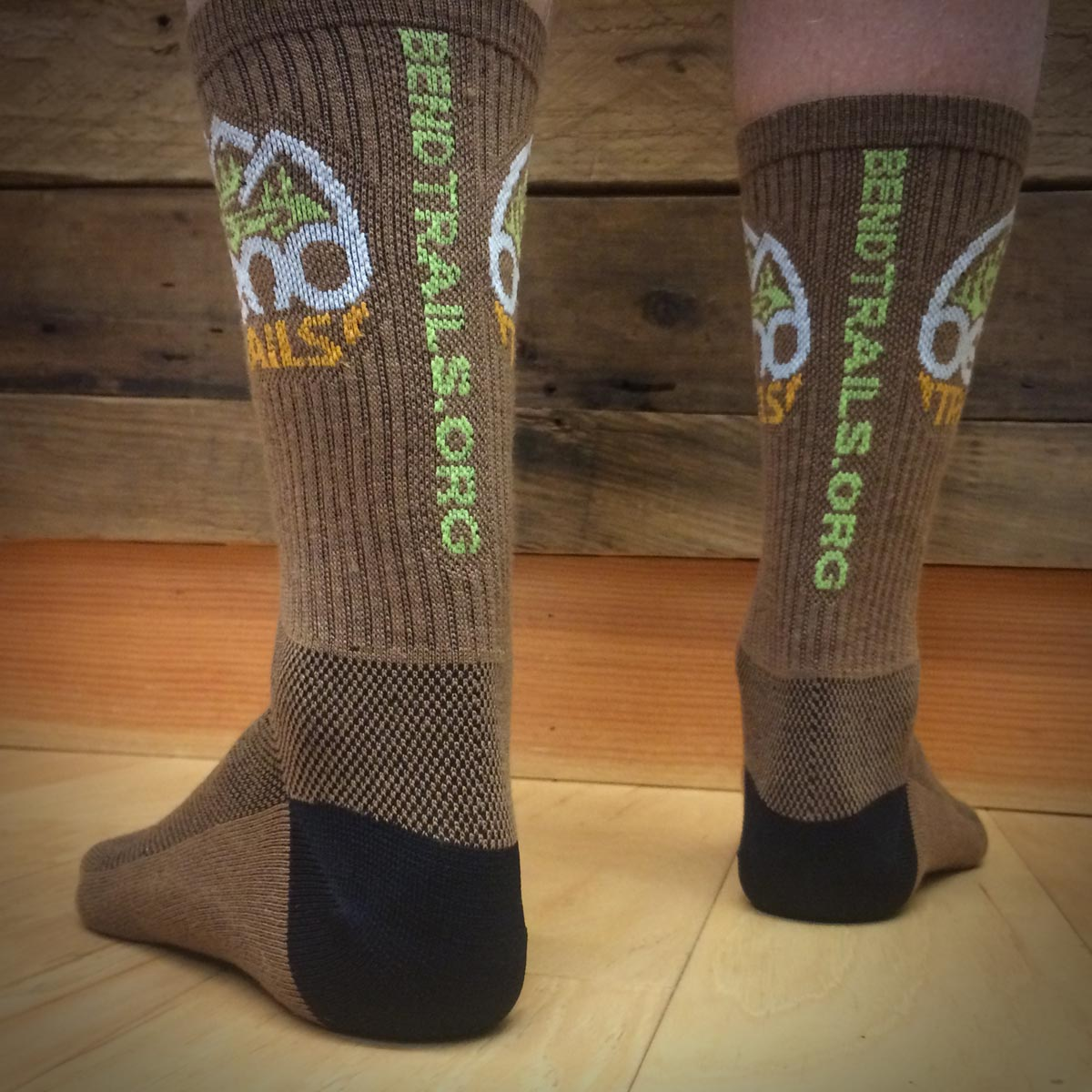 BendTrails Bike Socks from Sock Guy®