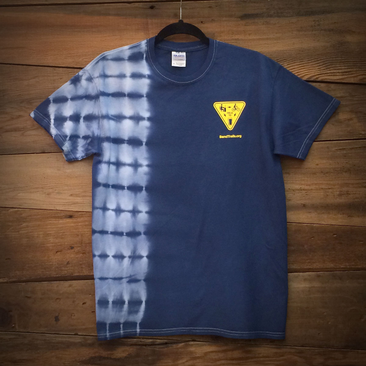 """Work/Ride/Beer Yield"" Unisex Tie-Dye Shirt"