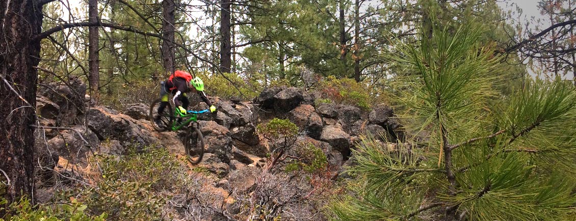 Mountain Biking Trails in Bend, Oregon