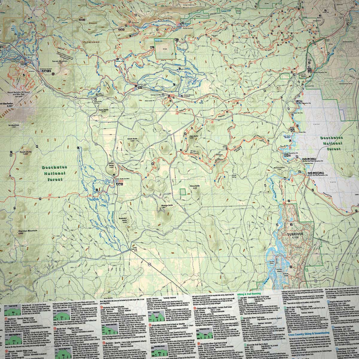 Bend Oregon Trail Map