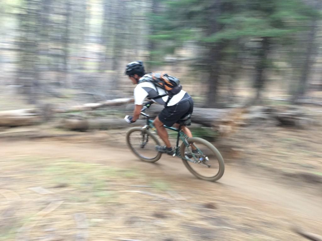 Mountain Biking on Storm King