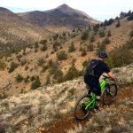 Mountain Biking on Grey Butte Trail