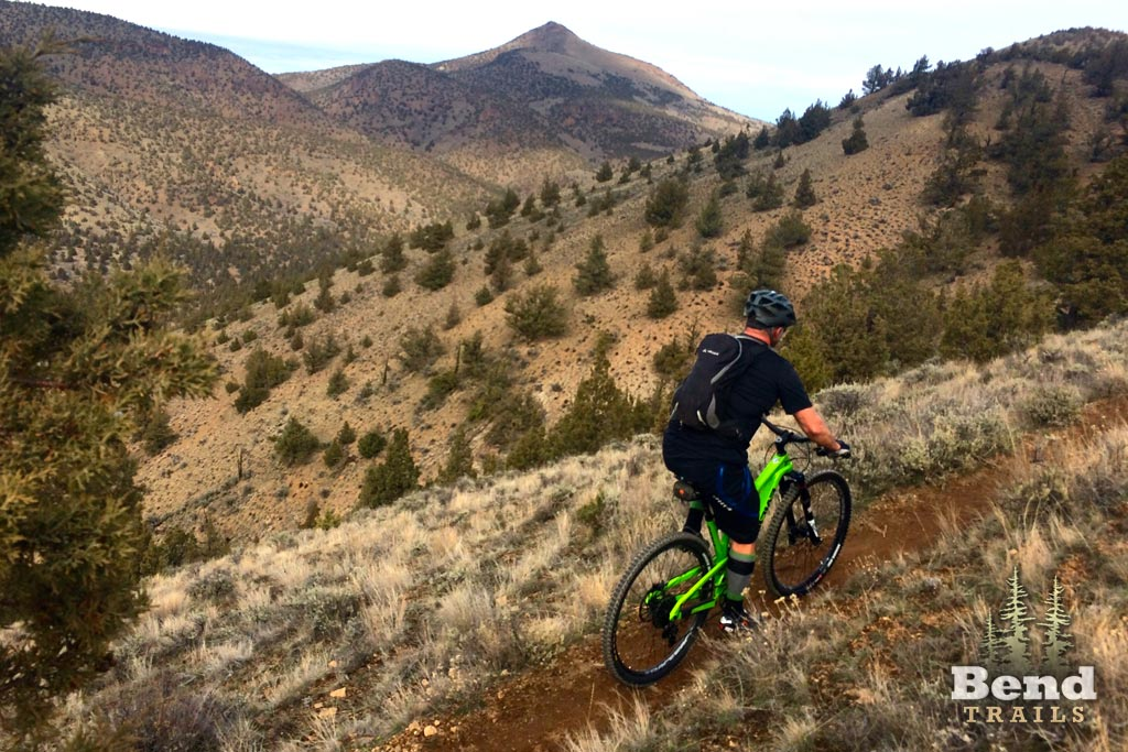 Mountain Biking on Grey Butte Trail