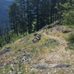 Heckletooth Trail in Oakridge, Oregon