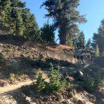Last Chance DH Trail at Mt. Bachelor Bike Park