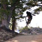 Lava Flow Trail Wooden Jump