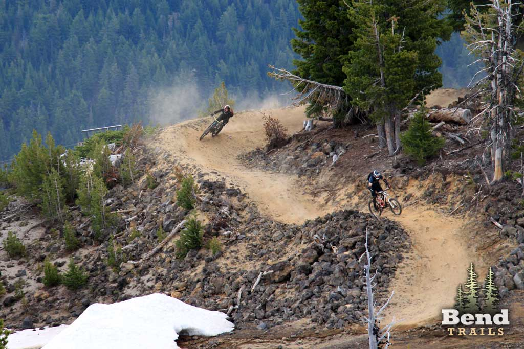 Lava Flow Trail at Mt. Bachelor Bike Park