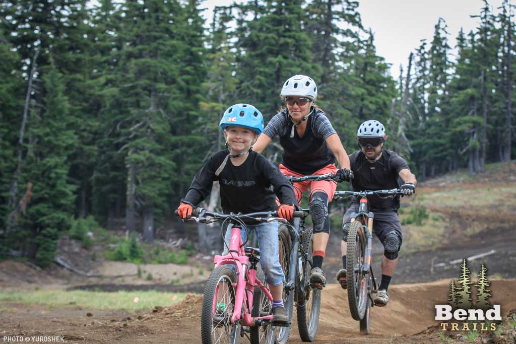 Lower Lava Flow Trail at Mt. Bachelor Bike Park