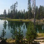 The Trail Skirts Lava Lake