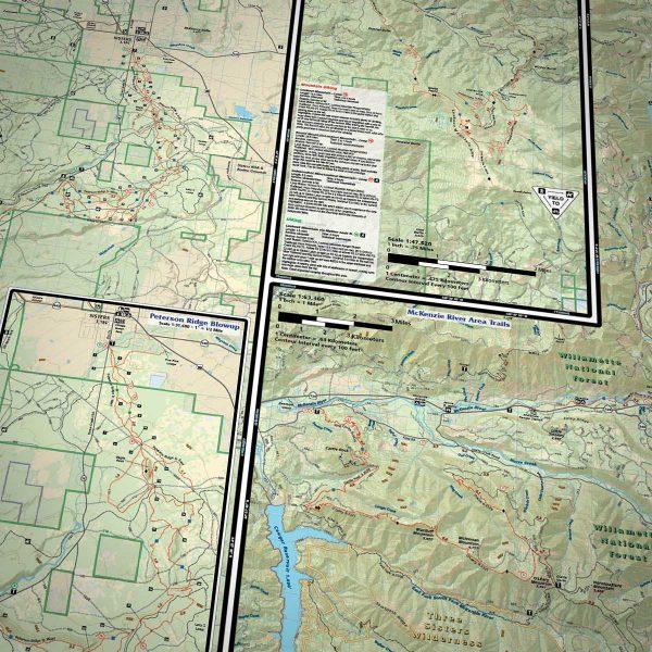 Peterson Ridge Trail Map