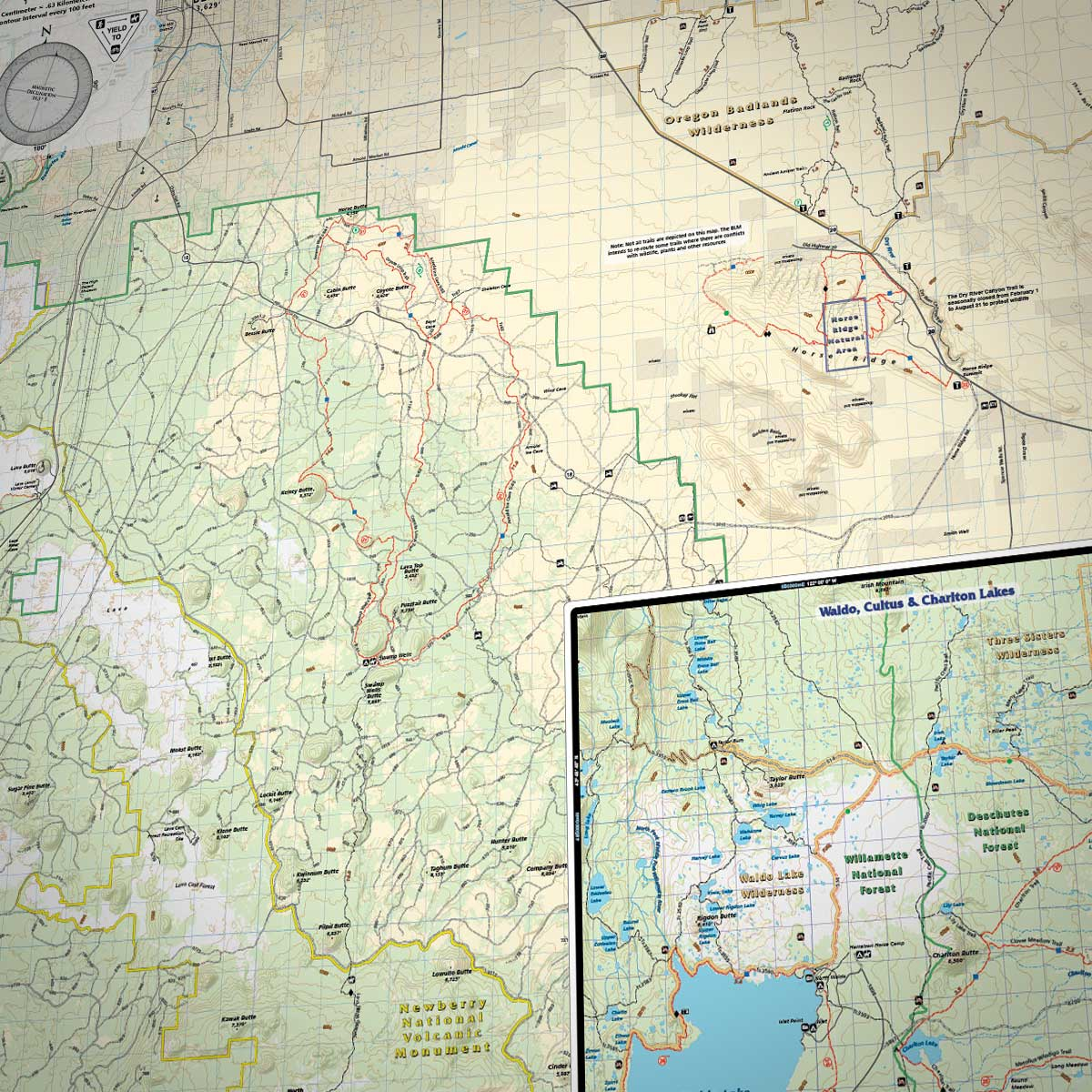 Bend Trails Adventure Map » Bend Trails Gear on
