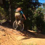 Rockfall Stepdown Gap Jump