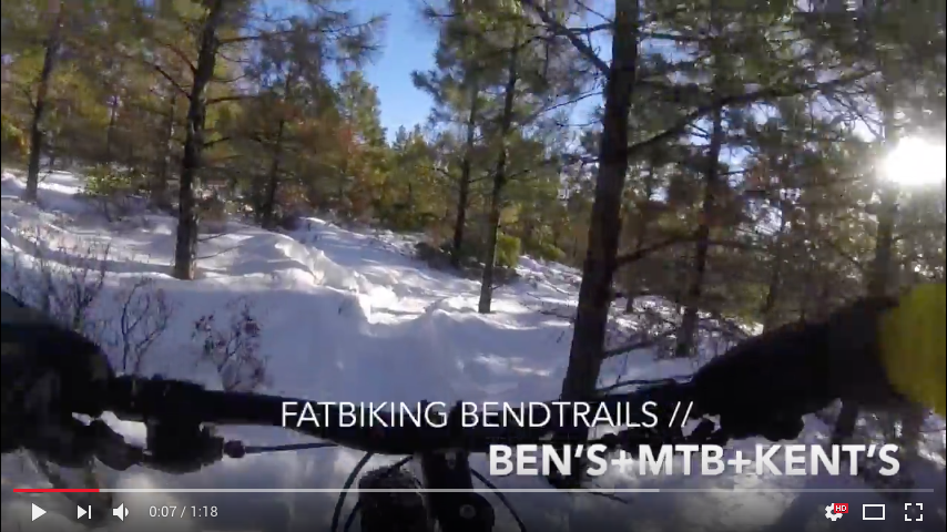 Fat Biking on Bend Trails