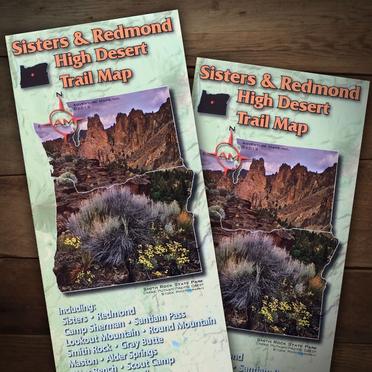 Sisters & Redmond High Desert Trail Map