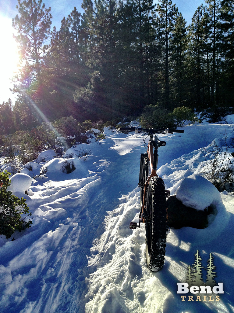 Ben's Mountain Bike Trail in Bend