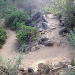 Mrazek Trail Switchbacks